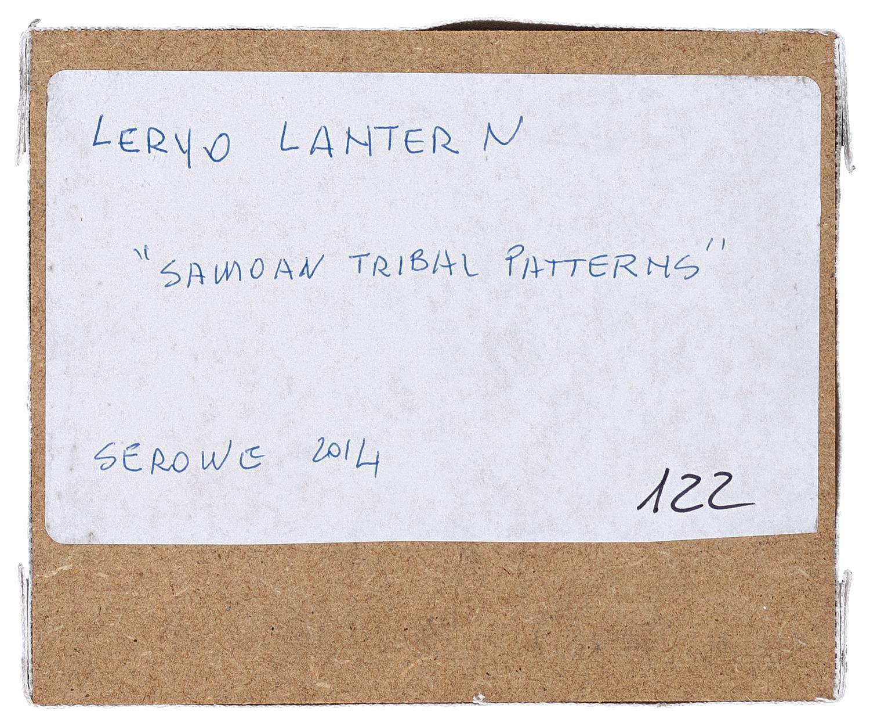 Imago Mundi Samoan Tribal Pattern By Leryo Lantern